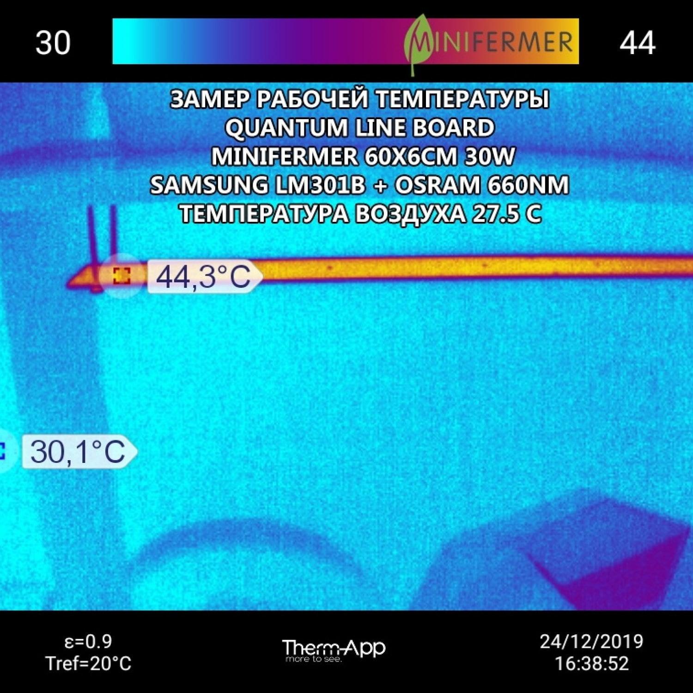 Quantum line 60 см с диммируемым драйвером в сборе