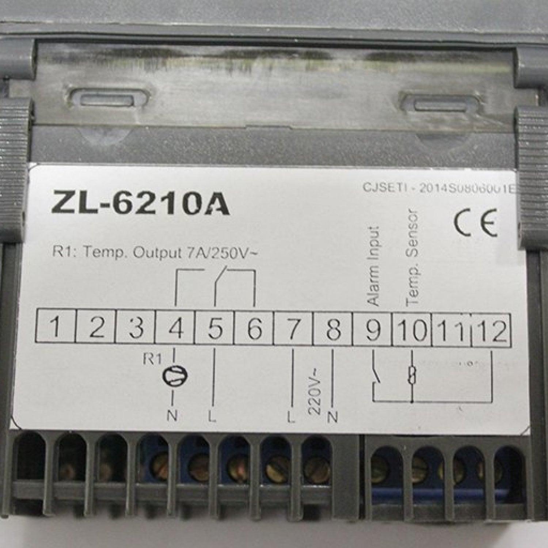 Терморегулятор LILYTECH ZL-6210A (7А)