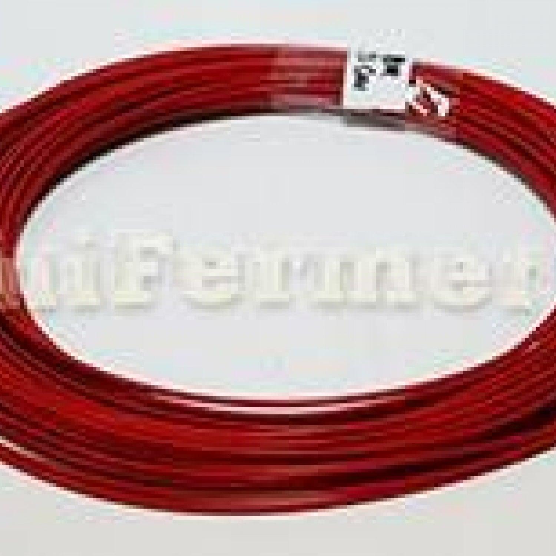Нагревательный кабель 133 Ом 10 метров 2 мм тефлон 3k