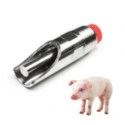 Ниппельная поилка для свиней НП25